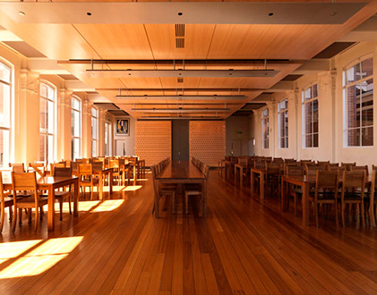 melbourne girls' grammar dining hall and café